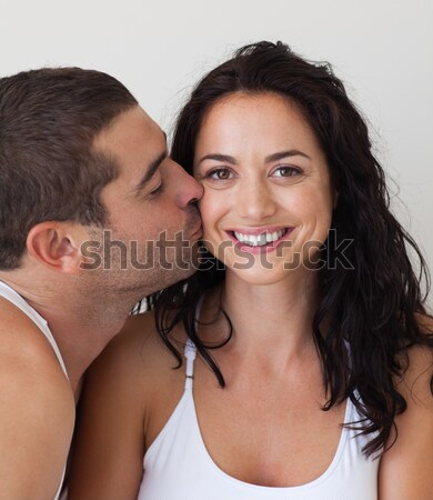 Portrait of an affectionate couple looking at camera Stock photo © wavebreak_media