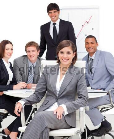 портрет разнообразия заседание бизнеса Сток-фото © wavebreak_media