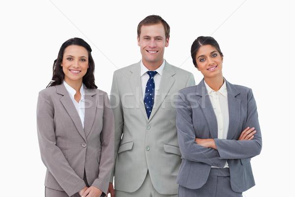 Souriant blanche affaires sourire affaires Photo stock © wavebreak_media