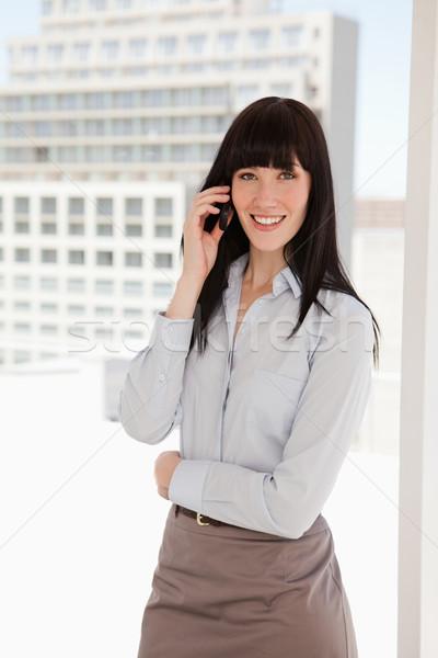 女性 シャープ ビジネス スーツ 作業 ストックフォト © wavebreak_media