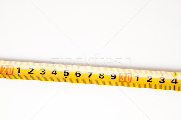 Sector of measuring tape close up Stock photo © wavebreak_media