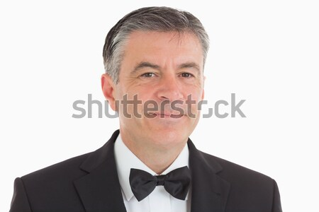 Well-dressed man on white background Stock photo © wavebreak_media