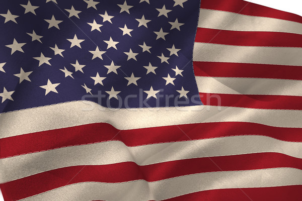 United states of america flag Stock photo © wavebreak_media