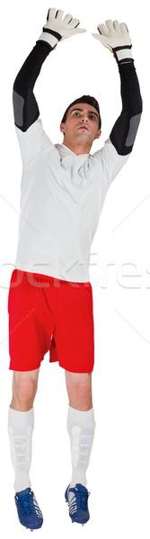 вратарь белый сохранить Футбол футбола Сток-фото © wavebreak_media