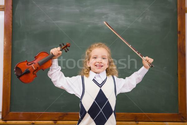 かわいい バイオリン 文字列 小学校 音楽 ストックフォト © wavebreak_media