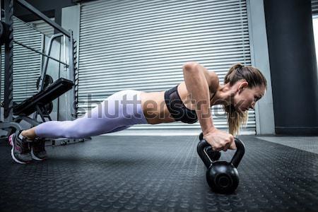 画像 筋肉の 女性 フィットネス ストックフォト © wavebreak_media