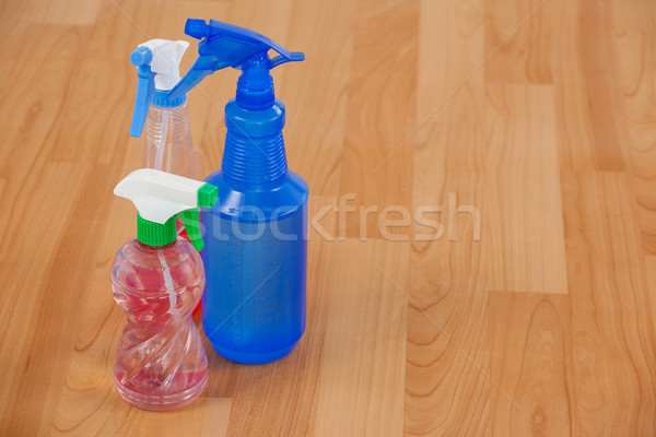 Tre spray bottiglie primo piano Foto d'archivio © wavebreak_media