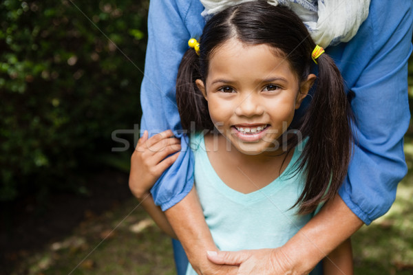 Portrait of smiling girl with grandmother Stock photo © wavebreak_media