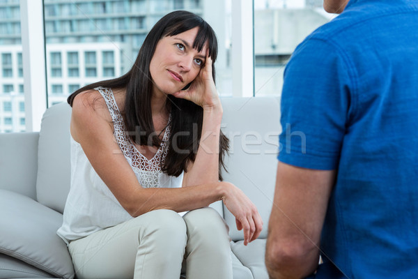 Woman consulting a therapist Stock photo © wavebreak_media