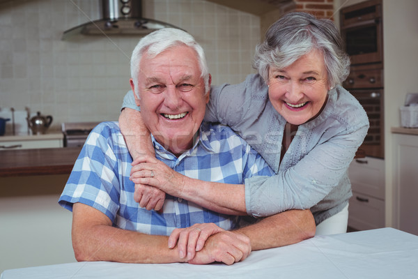 Retrato feliz senior mulher homem Foto stock © wavebreak_media