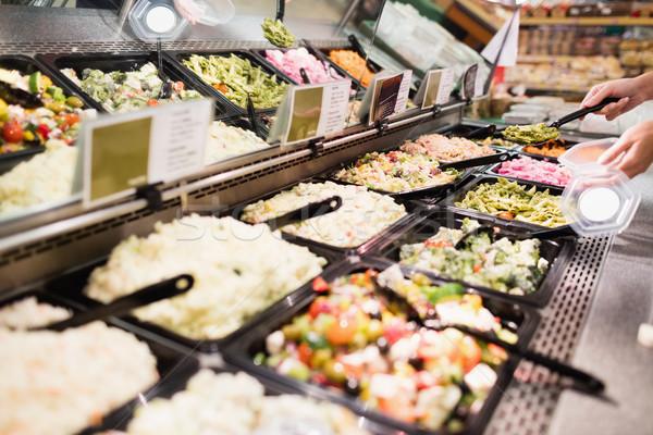 Vue appétissant buffet préparé repas Photo stock © wavebreak_media