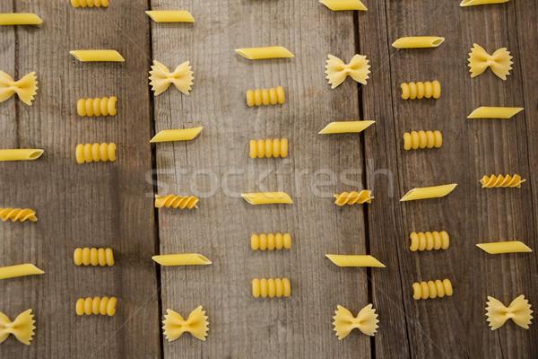 Különböző tészta csetepaté vakáció ebéd életstílus Stock fotó © wavebreak_media