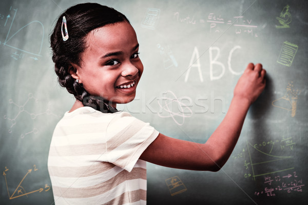 Composite image of math and science doodles Stock photo © wavebreak_media