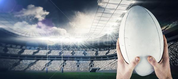 Afbeelding rugby speler stadion Stockfoto © wavebreak_media