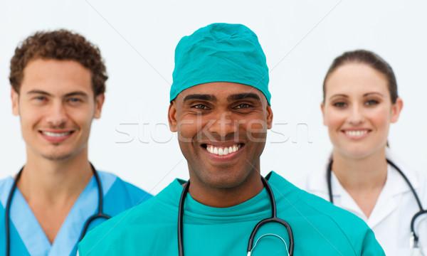 Portrait of a charming medical team Stock photo © wavebreak_media