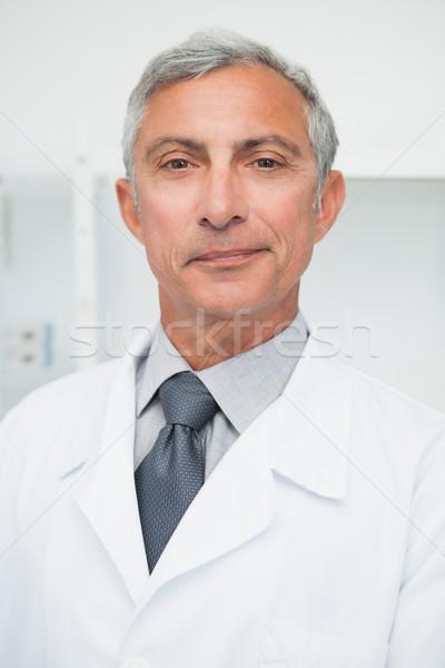 улыбаясь врач лабораторный халат больницу здоровья Сток-фото © wavebreak_media