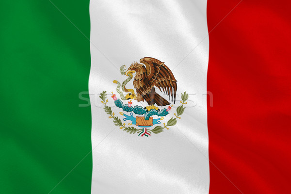 Mexican flag Stock photo © wavebreak_media