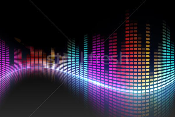 デジタル ディスコ デザイン 異なる 色 パーティ ストックフォト © wavebreak_media