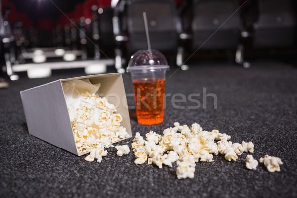Falling box of pop corn and drink  Stock photo © wavebreak_media