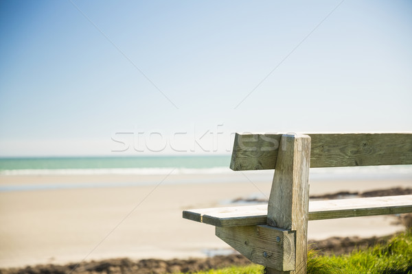 Pietra panchina mare Foto d'archivio © wavebreak_media