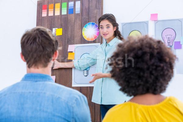 Creative team having a meeting  Stock photo © wavebreak_media