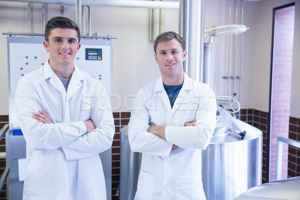 Portrait of scientists with arms crossed Stock photo © wavebreak_media