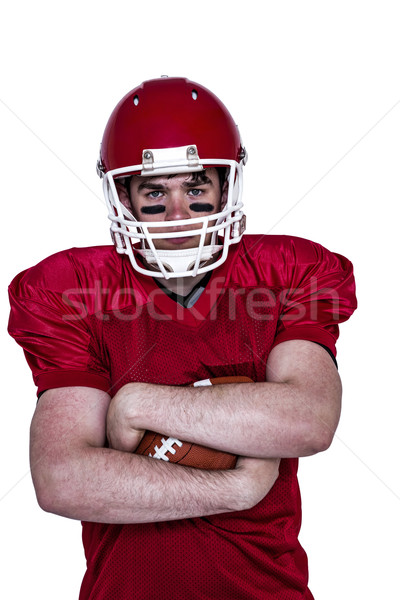 American football player with arms crossed Stock photo © wavebreak_media