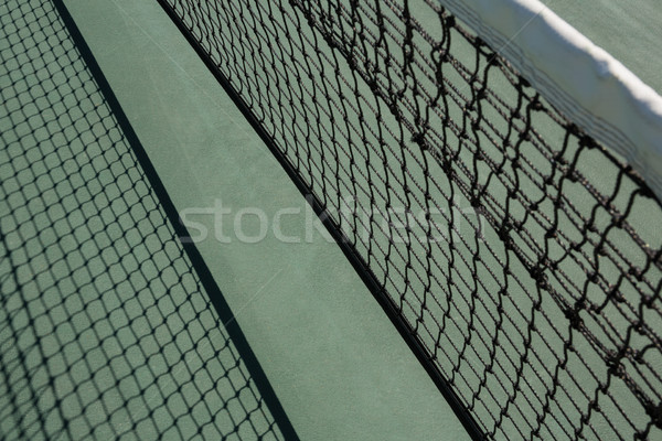 High angle view of tennis court Stock photo © wavebreak_media