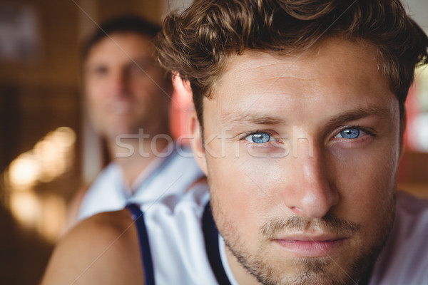 Close up portrait of male basketball player Stock photo © wavebreak_media