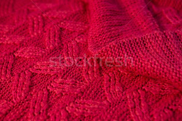 Full frame shot of red sweater Stock photo © wavebreak_media