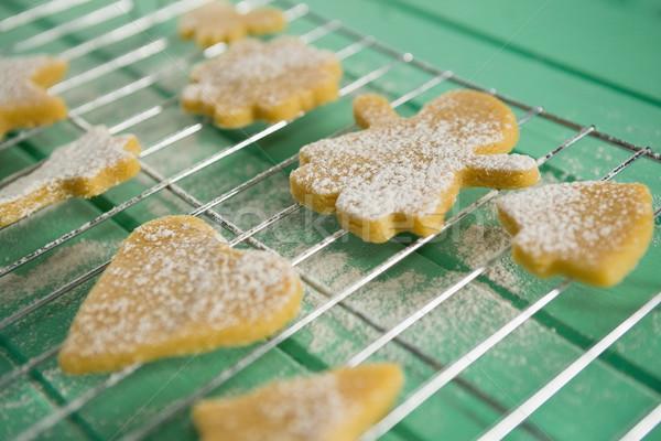 Görmek kurabiye soğutma raf Stok fotoğraf © wavebreak_media