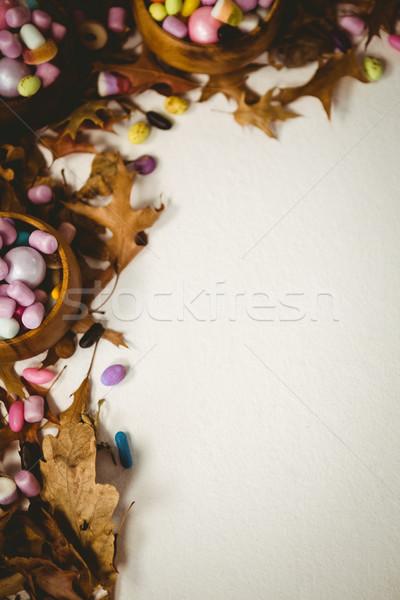 表示 紅葉 白 葉 キャンディ ストックフォト © wavebreak_media