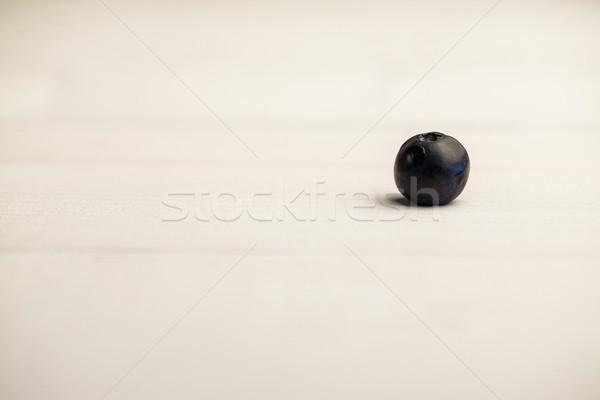 свежие черника деревянный стол Сток-фото © wavebreak_media