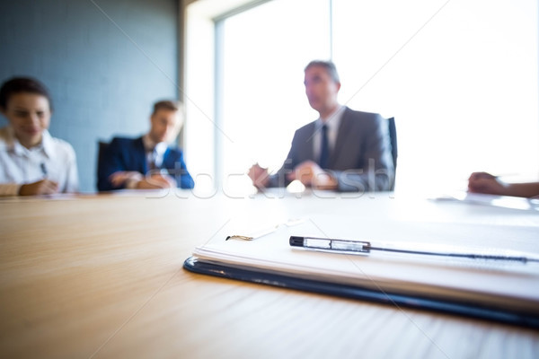 Business people discussing in conference meeting  Stock photo © wavebreak_media