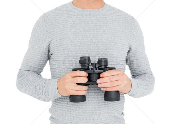 Man achtergrond leven t-shirt mannelijke Stockfoto © wavebreak_media