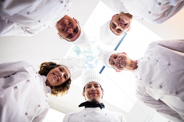 портрет Повара команда Постоянный круга Сток-фото © wavebreak_media