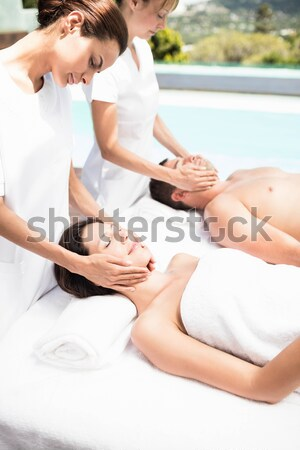 назад массаж массажист Spa Сток-фото © wavebreak_media