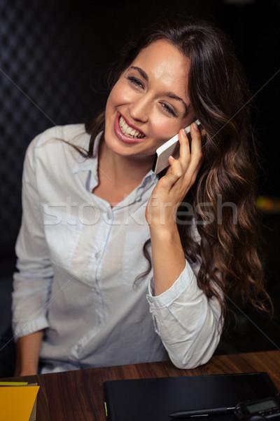 Creative businesswoman having a phone call Stock photo © wavebreak_media