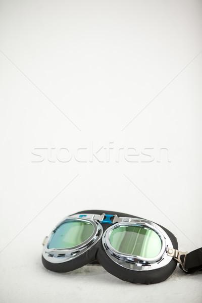 Stofbril witte mode bril leuk Stockfoto © wavebreak_media