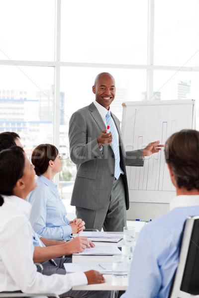 Empresário mercado de ações equipe escritório negócio Foto stock © wavebreak_media