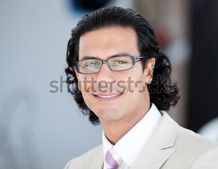 портрет серьезный бизнесмен очки служба Сток-фото © wavebreak_media