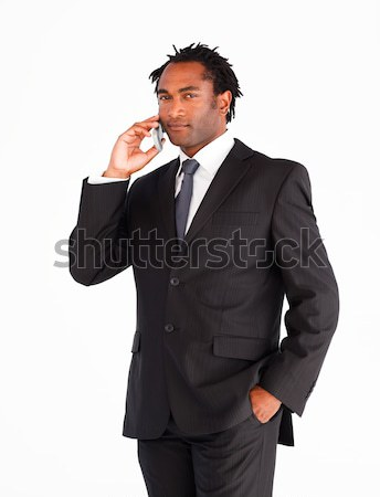 Serious  businessman showing okay sign  Stock photo © wavebreak_media