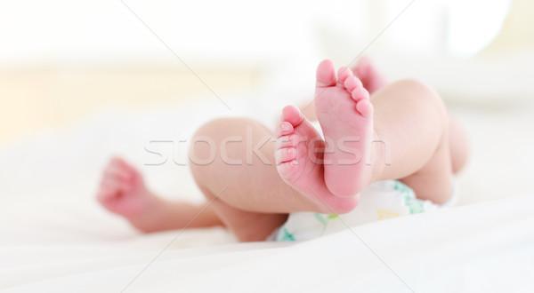 赤ちゃん ベッド 顔 幸せ 楽しい ストックフォト © wavebreak_media