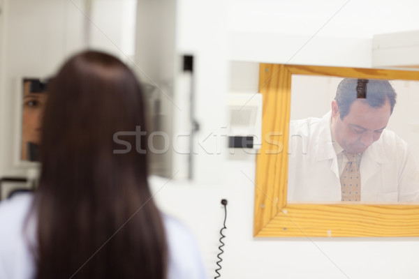Medico stanza donna medici Foto d'archivio © wavebreak_media