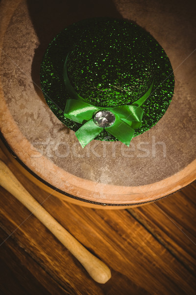 Traditional Irish bodhran and stick Stock photo © wavebreak_media