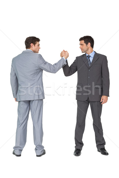 Unified business team putting hands together Stock photo © wavebreak_media