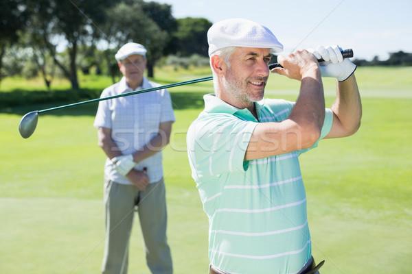 гольфист клуба друга за гольф Сток-фото © wavebreak_media