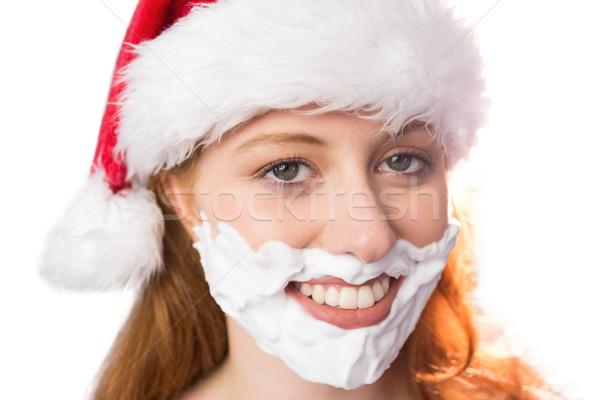 Piana broda biały szczęśliwy Zdjęcia stock © wavebreak_media