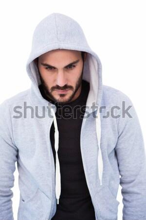 Portrait dangereux homme veste Photo stock © wavebreak_media