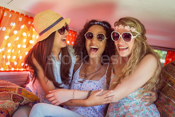 Hipster friends on road trip Stock photo © wavebreak_media